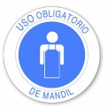 USO OBLIGATORIO DE MANDIL