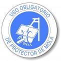 USO OBLIGATORIO DE PROTECTOR DE MOLA