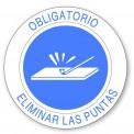 OBLIGATORIO ELIMINAR LAS PUNTAS