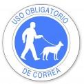 USO OBLIGATORIO DE CORREA