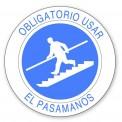 OBLIGATORIO UTILIZAR EL PASAMANOS