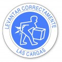 LEVANTAR CORRECTAMENTE LAS CARGAS