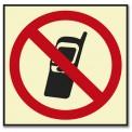 PROHIBIDO TELÉFONOS MÓVILES