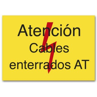ATENCIÓN CABLES ENTERRADOS AT