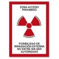 ZONA ACCESO PROHIBIDO