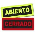 ABIERTO/CERRADO