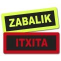 ZABALIK/ITXITA