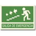 SALIDA DE EMERGENCIA BAJAR ESCALERAS IZQUIERDA