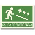 SALIDA DE EMERGENCIA BAJAR ESCALERAS DERECHA