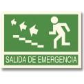 SALIDA DE EMERGENCIA SUBIR ESCALERAS IZQUIERDA