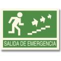 SALIDA DE EMERGENCIA SUBIR ESCALERAS DERECHA