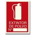 EXTINTOR DE POLVO Nº_