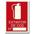EXTINTOR DE CO2 Nº_