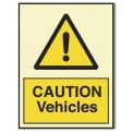 CAUTION VEHICLES