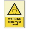 WARNING MIND YOUR HEAD