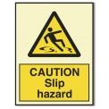 CAUTION SLIP HAZARD