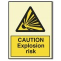 CAUTION EXPLOSION RISK