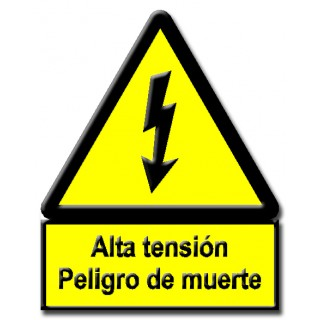TRIÁNGULO RIESGO ELÉCTRICO CE-14