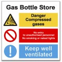 GAS BOTTLE STORE