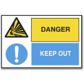 DANGER/KEEP OUT