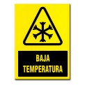 """BAJA TEMPERATURA"" 210X297 MM PVC"