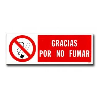 GRACIAS POR NO FUMAR (PACK DE 10 UNIDADES)