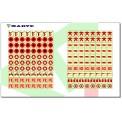 MINIPICTOGRAMAS DE INCENDIOS PARA PLANOS (1.440 unidades)