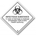 INFECTIOUS SUBSTANCE CLASS 6