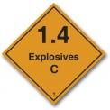 EXPLOSIVES 1.4 C CLASS 1