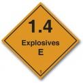 EXPLOSIVES 1.4 E CLASS 1