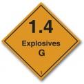 EXPLOSIVES 1.4 G CLASS 1