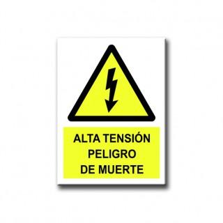 ALTA TENSIÓN PELIGRO DE MUERTE (METAL)