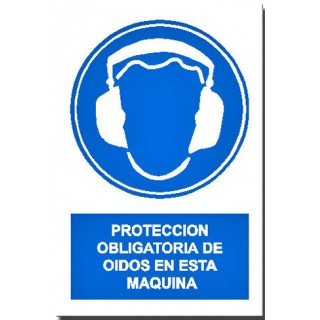 PROTECCIÓN DE OIDOS EN ESTA MÁQUINA