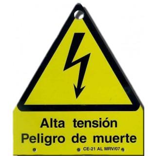 RIESGO ELÉCTRICO, ALTA TENSIÓN