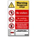 WARNING DANGEROUS CARGO