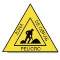 PELIGRO ZONA DE OBRAS