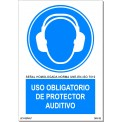 USO OBLIGATORIO DE PROTECTOR ANTIRUIDO