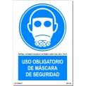 USO OBLIGATORIO DE MASCARA DE SEGURIDAD