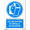 USO OBLIGATORIO DE PANTALLA DE SEGURIDAD