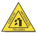 PELIGRO CAÍDA DE MATERIALES