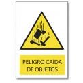 PELIGRO CAIDA DE OBJETOS