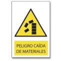 PELIGRO CAIDA DE MATERIALES