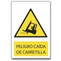 PELIGRO CAIDA DE CARRETILLA
