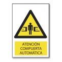 ATENCIÓN COMPUERTA AUTOMÁTICA