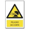 PELIGRO DE CORTE