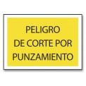 PELIGRO DE CORTE POR PUNZAMIENTO