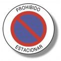 PROHIBIDO ESTACIONAR
