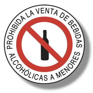 Prohibida La Venta De Alcohol A Menores De 18 Años Marve Señalización Y Seguridad