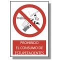 PROHIBIDO EL CONSUMO DE ESTUPEFACIENTES