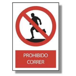 PROHIBIDO CORRER - Marve Señalización y Seguridad